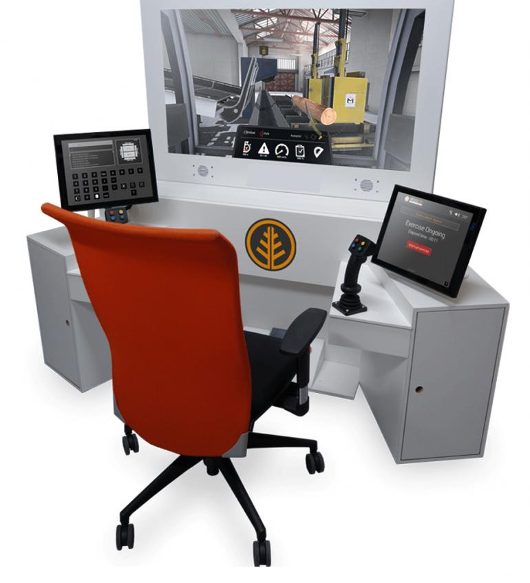 Formation Simulateur | Opérateur de Scierie