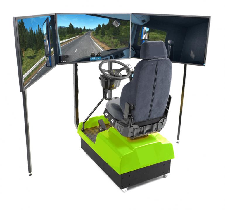 Formation Simulateur | Conduite Camion Poids Lourd