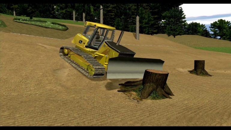 Formation Simulateur | Conduite Bouteur / Bulldozer
