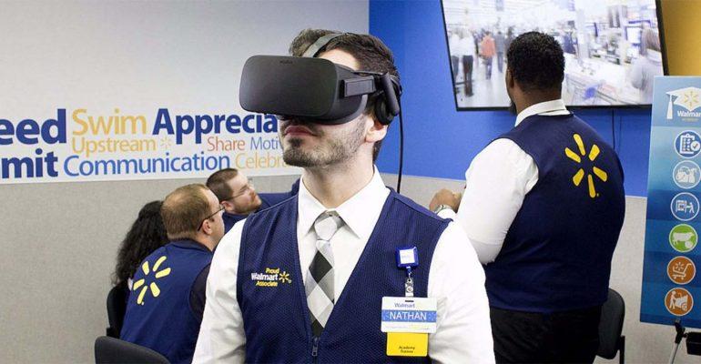 La Réalité Virtuelle pour la formation des équipes de Walmart